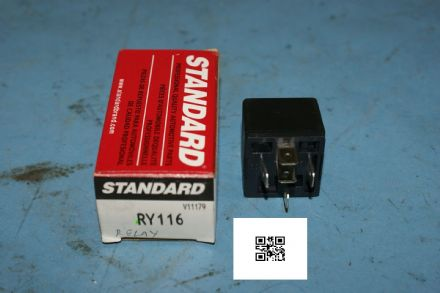 1990-1994 Corvette C4 Fuel Pump Relay, Standard RY116, New In Box